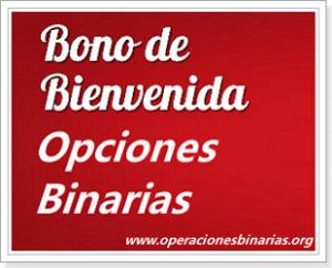 Bono opciones binarias