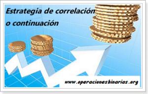 Estrategia de correlación continuación