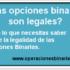 opciones binarias legales