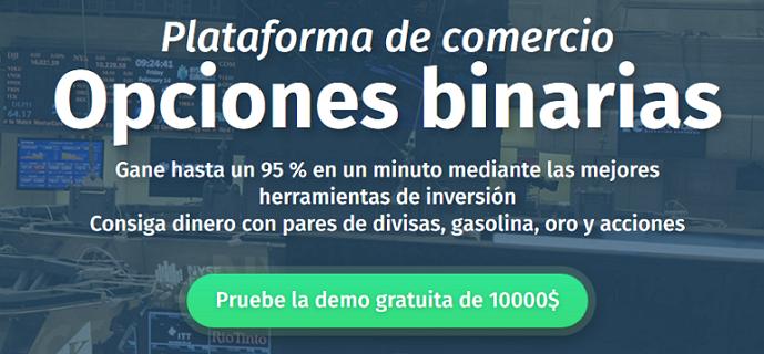 Aplicaciones opciones binarias con demo gratis