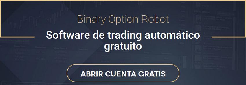 Demostración de negociación automática de opciones binarias