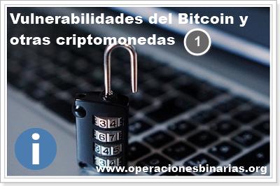 vulnerabilidades bitcoin