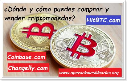 Comprar, vender y transferir criptomonedas